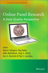 Online Panel Research book cover